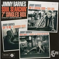 JIMMY BARNES - Soul Searchin: 7in Singles Box (Limited Edition Box Set)