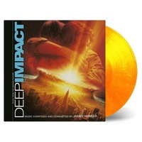SOUNDTRACK - Deep Impact (Limited Flaming Yellow & Orange Coloured Vinyl)