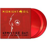MIDNIGHT OIL - Armistice Day: Live At The Domain Sydney (Limited Red Coloured Vinyl)