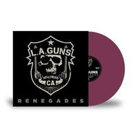 L.A. GUNS - Renegades (Purple Lp)