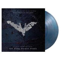 SOUNDTRACK - Dark Knight Rises: Original Motion Picture Soundtrack (Limited Clear, Blue & Red Marbled Coloured Vinyl)